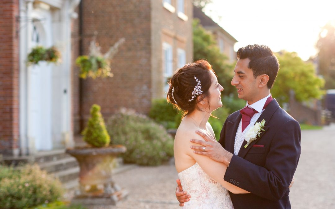 Chilston Park Summer Wedding Pictures: Veronica & Ankit