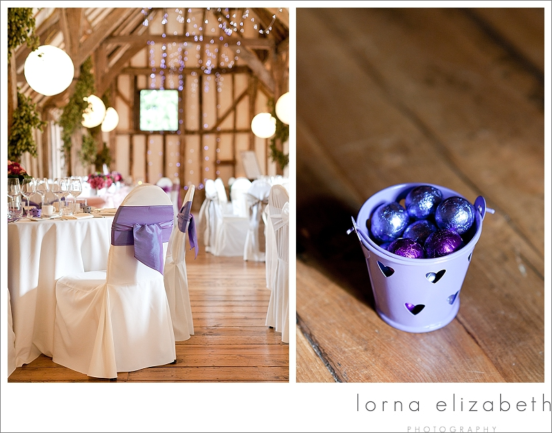 12 Winters Barns Wedding Photos and purple wedding theme pictures