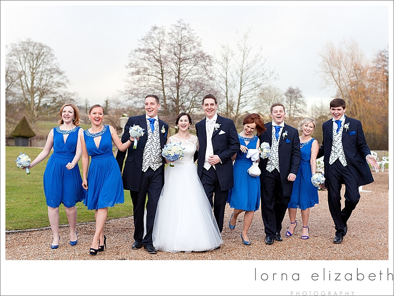 Blue Wedding Details at Chilston Park Hotel: Elena & Grant