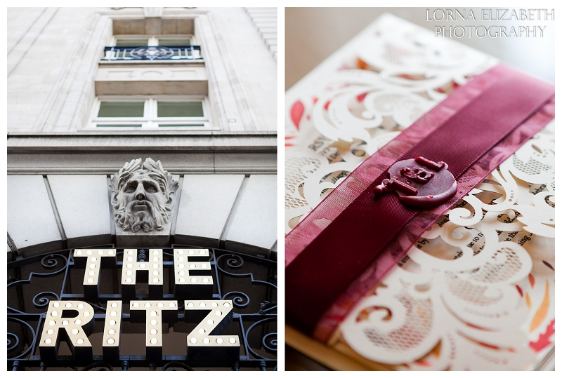 1 Ritz Hotel London Wedding Pictures