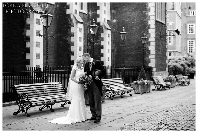Ritz Hotel London & Middle Temple Wedding Pictures: Lauren & Tom