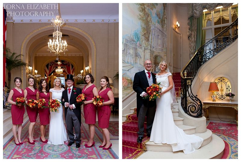 7 Ritz Hotel London Wedding Pictures