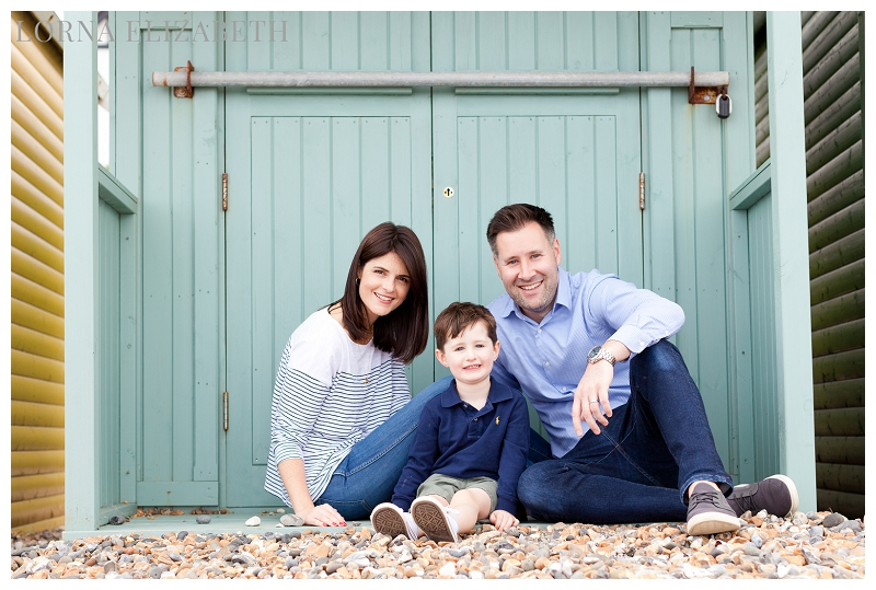 Kent Family Portraits: Seaside Location