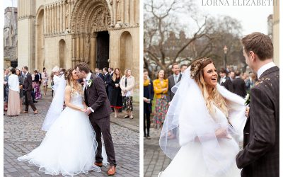 Rochester Cathedral Wedding Pictures: Bex & Andy